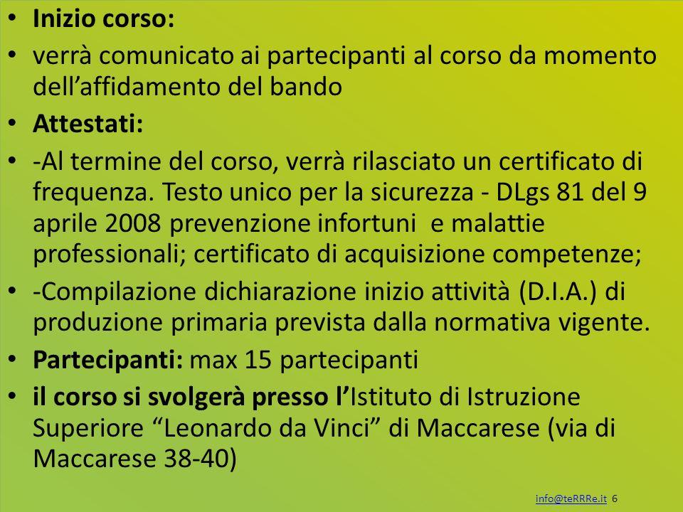 info@teRRRe.it 7info@teRRRe.it