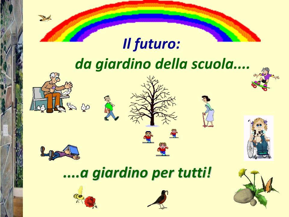 da giardino della scuola........a giardino per tutti! Il futuro: