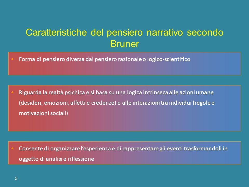 5 Forma di pensiero diversa dal pensiero razionale o logico-scientifico Riguarda la realtà psichica e si basa su una logica intrinseca alle azioni uma
