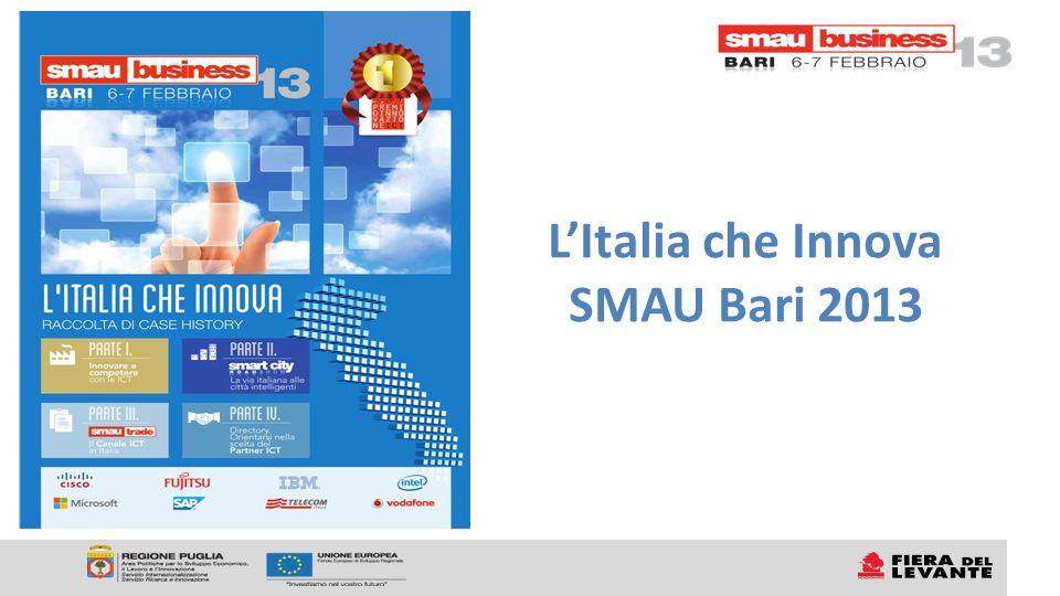LItalia che Innova SMAU Bari 2013