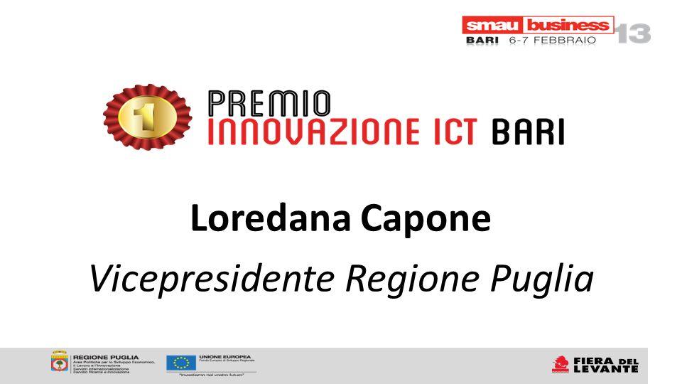 Loredana Capone Vicepresidente Regione Puglia