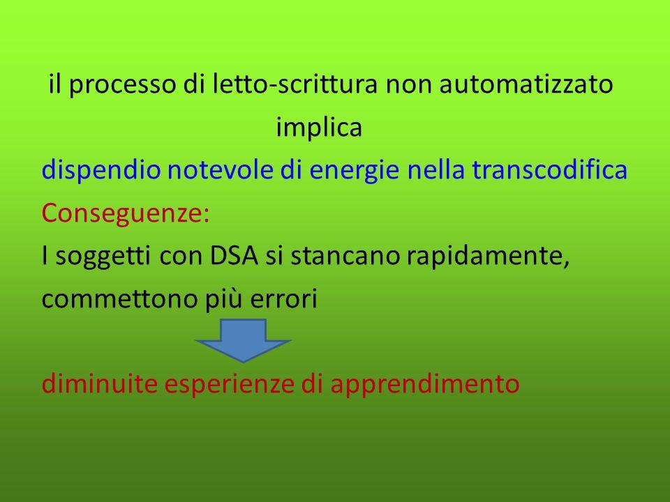Tecnologie informatiche: Consentono, con facilità, un accesso agli apprendimenti attraverso modalità di altro genere rispetto alla sola letto-scrittura Informazione fornita per via ORALE (es.