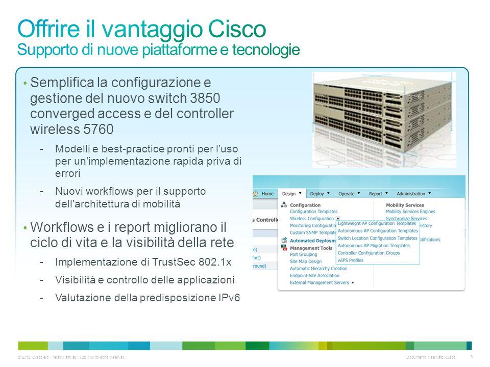 © 2012 Cisco e/o i relativi affiliati.Tutti i diritti sono riservati.