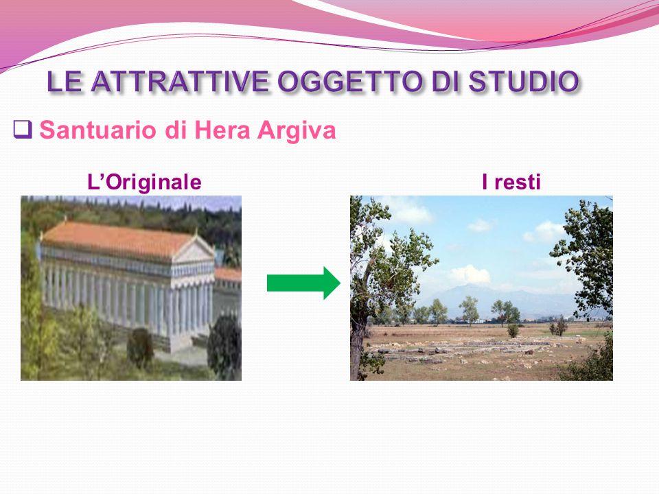 Santuario di Hera Argiva LOriginaleI resti