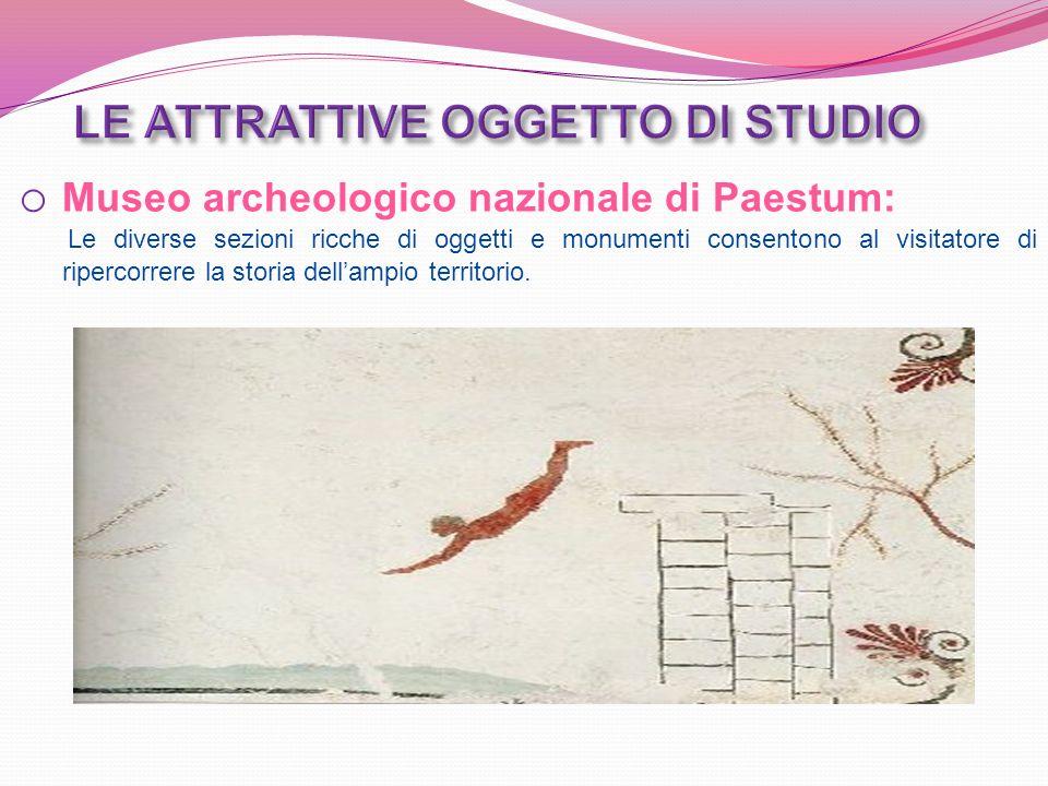 Progetto Paestum Pianificazione strategica Strategie e sottobiettivi S.W.O.T.