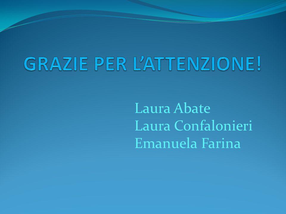 Laura Abate Laura Confalonieri Emanuela Farina