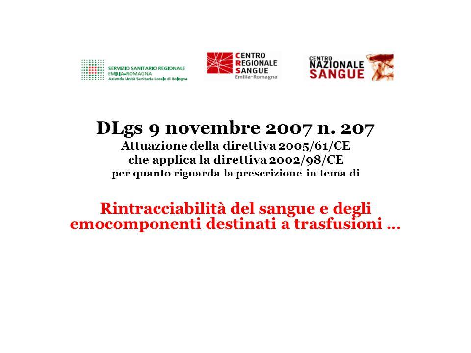 DLgs 9 novembre 2007 n.
