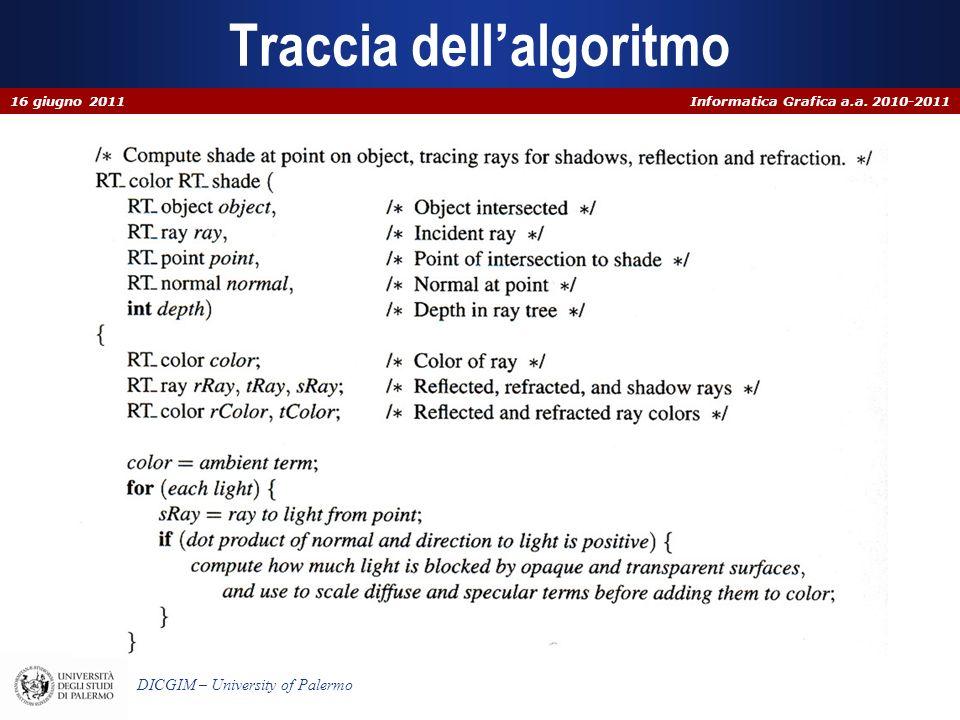 Informatica Grafica a.a.