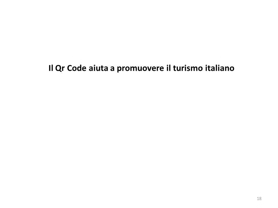 Il Qr Code aiuta a promuovere il turismo italiano 18