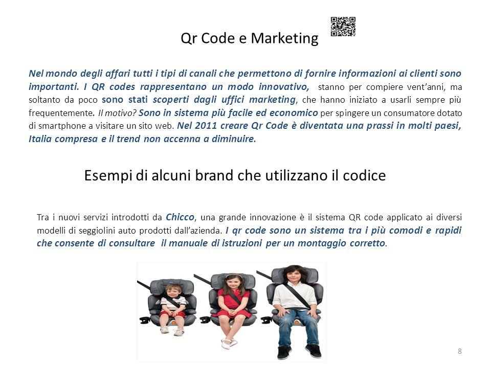 Qr Code e Marketing 8 Nel mondo degli affari tutti i tipi di canali che permettono di fornire informazioni ai clienti sono importanti. I QR codes rapp
