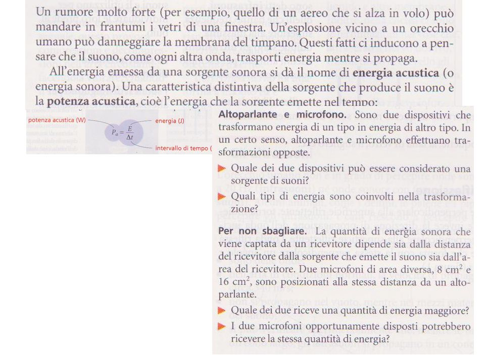 La ricezione del suono Orecchio e microfono sono trasduttori di segnali: traducono un segnale sonoro in un segnale elettrico La vibrazione del timpano