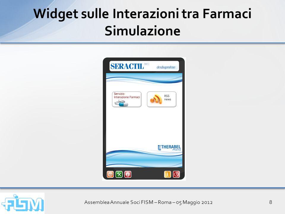 Assemblea Annuale Soci FISM – Roma – 05 Maggio 201229