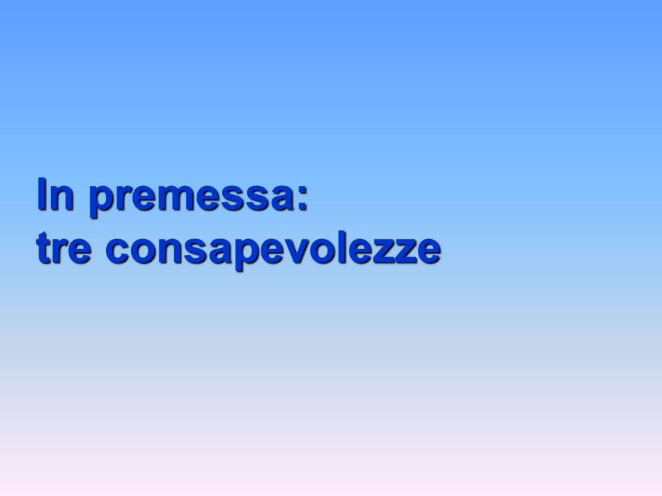 La bontà di unistituzione (scuola), in ultima analisi, dipende sempre dalla qualità dei suoi membri e dei suoi capi (distituto), ma non vi è dubbio che rigidi ordinamenti (mancanza di autonomia) possono frustrare e obliterare generosi doti di buona volontà e di energie umane (Parafrasato da Carlo Maria Cipolla 1988) PRIMA CONSAPEVOLEZZA