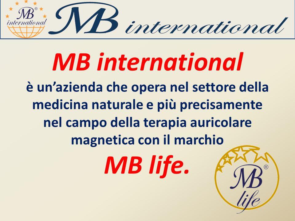 MB international è unazienda che opera nel settore della medicina naturale e più precisamente nel campo della terapia auricolare magnetica con il marc