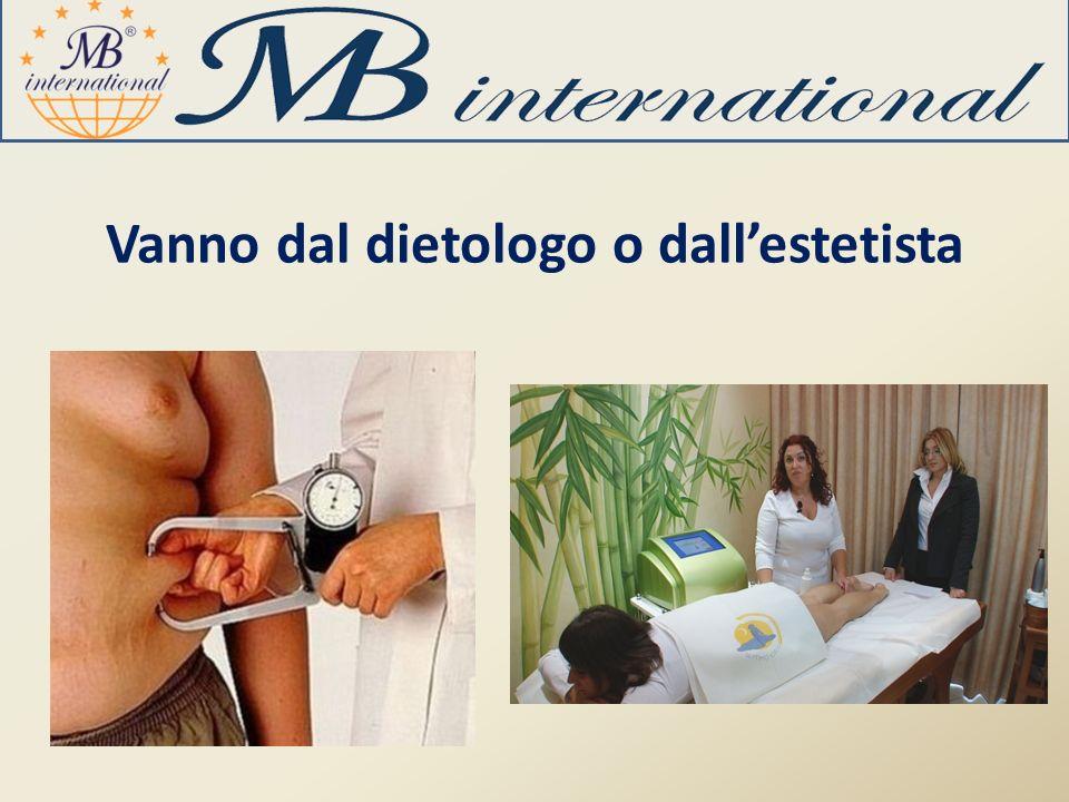Vanno dal dietologo o dallestetista