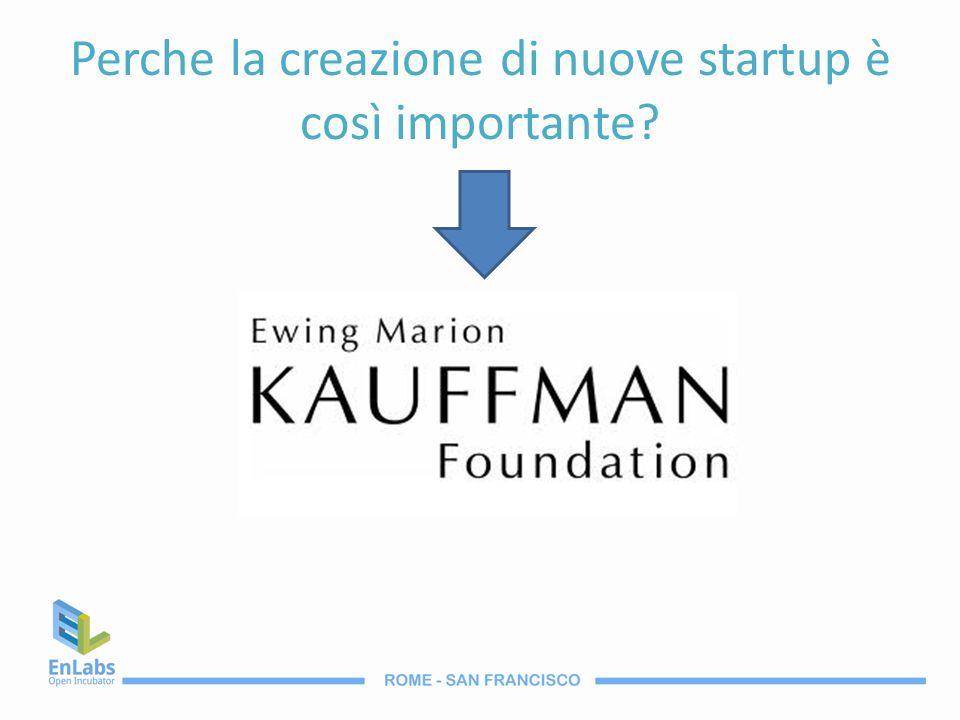 Kauffman Foundation Si propone di analizzare limprenditorialità per diffondere lo spirito imprenditoriale.