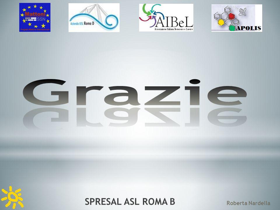 SPRESAL ASL ROMA B Roberta Nardella