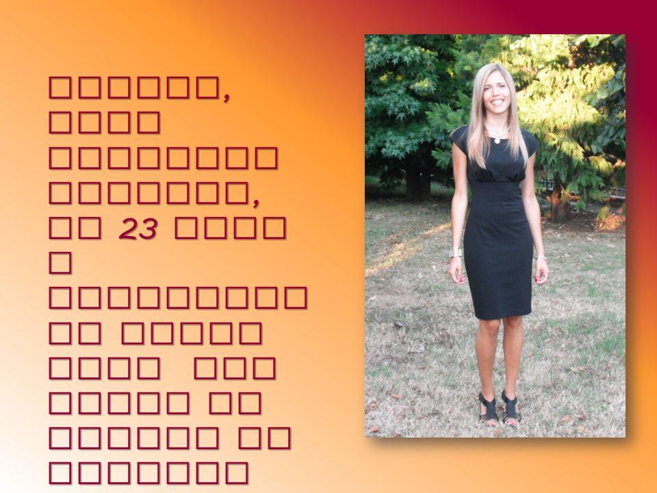 Eccomi, sono Federica Bollini, ho 23 anni e frequento il terzo anno del corso di laurea in Scienze della formazion e primaria, matricola 3600836.