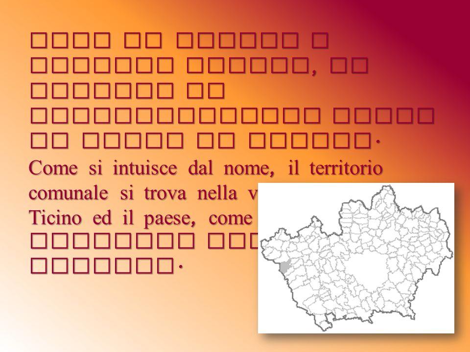 Vivo da sempre a Bernate Ticino, un piccolo ma caratteristico paese ad Ovest di Milano. Come si intuisce dal nome, il territorio comunale si trova nel