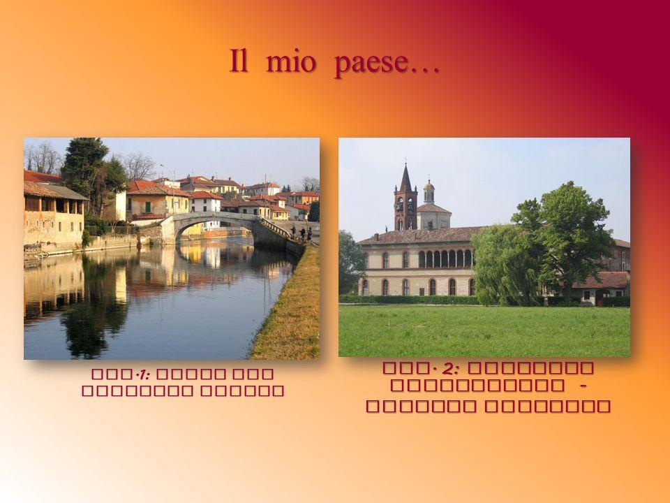 Il mio paese… Fig.1: Ponte del Naviglio Grande Fig. 2: Canonica Lateranense - Palazzo Visconti