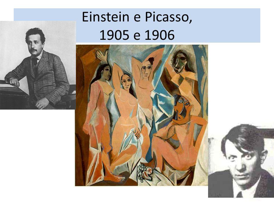 Einstein e Picasso, 1905 e 1906