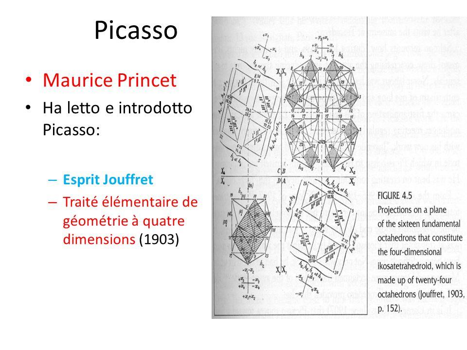 Picasso Maurice Princet Ha letto e introdotto Picasso: – Esprit Jouffret – Traité élémentaire de géométrie à quatre dimensions (1903)