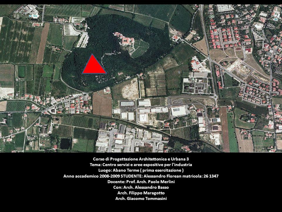 Blu area di progetto Rosso area industriale