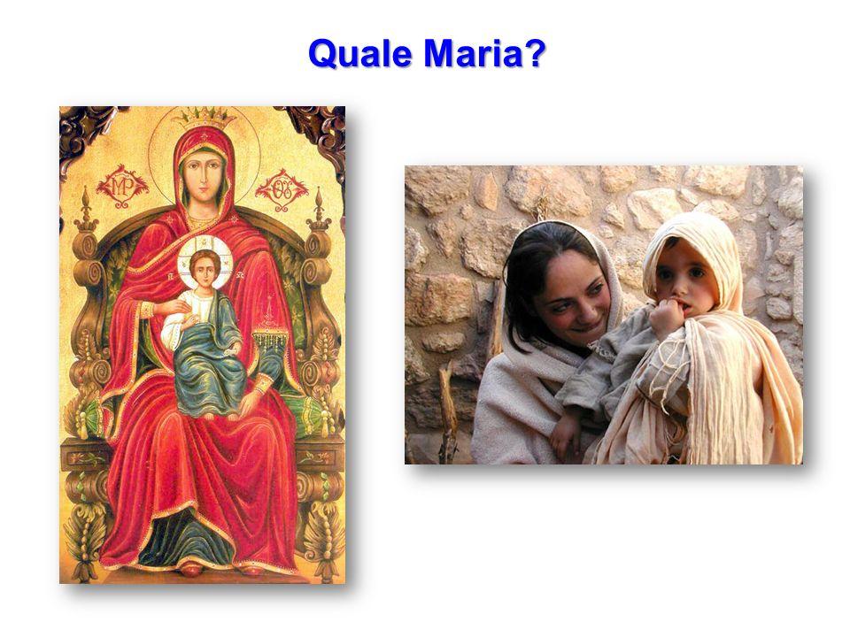 Quale Maria?
