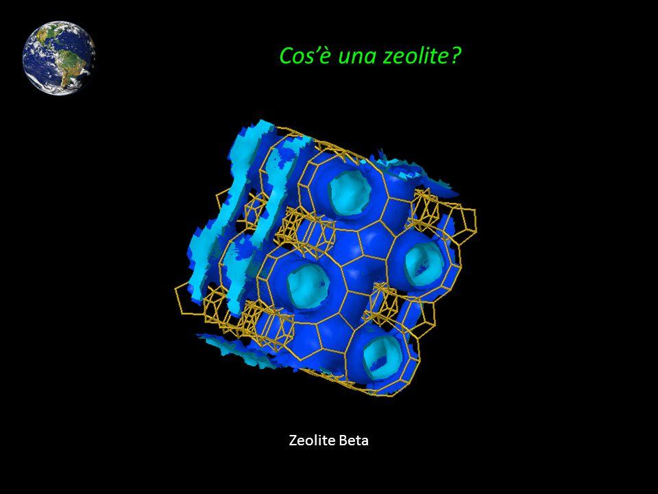 Cosè una zeolite? Zeolite Beta