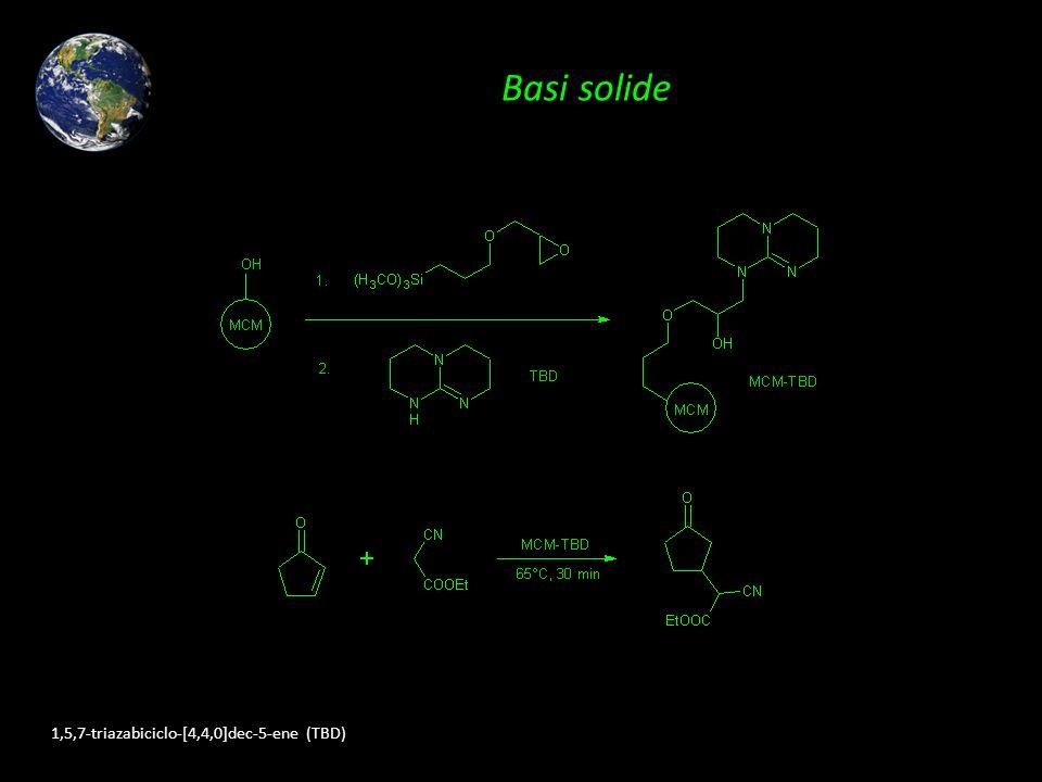 Basi solide 1,5,7-triazabiciclo-[4,4,0]dec-5-ene (TBD)
