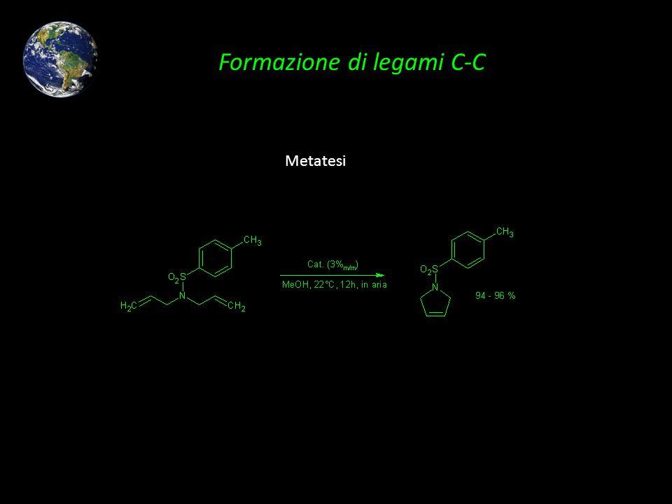Formazione di legami C-C Metatesi