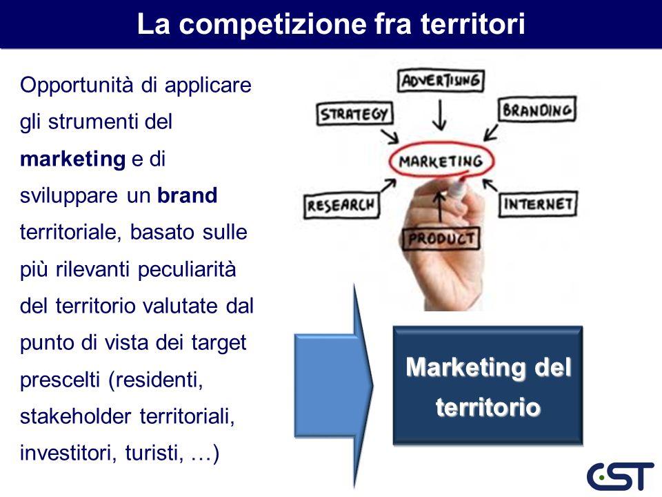 Opportunità di applicare gli strumenti del marketing e di sviluppare un brand territoriale, basato sulle più rilevanti peculiarità del territorio valu