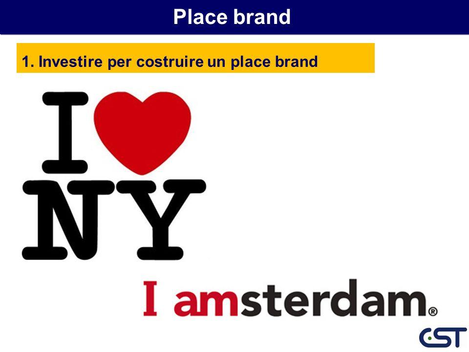 Place brand 1. Investire per costruire un place brand