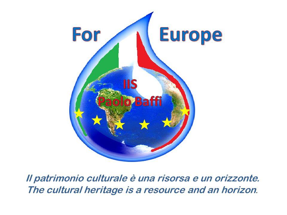 Il patrimonio culturale è una risorsa e un orizzonte.