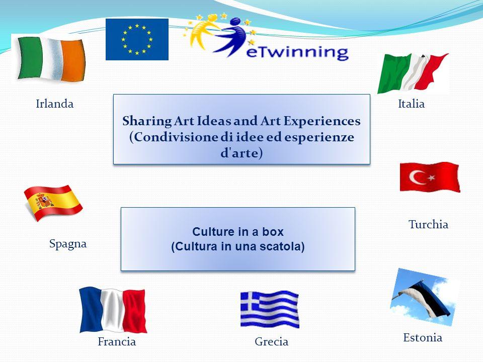 Sharing Art Ideas and Art Experiences (Condivisione di idee ed esperienze d'arte) Sharing Art Ideas and Art Experiences (Condivisione di idee ed esper