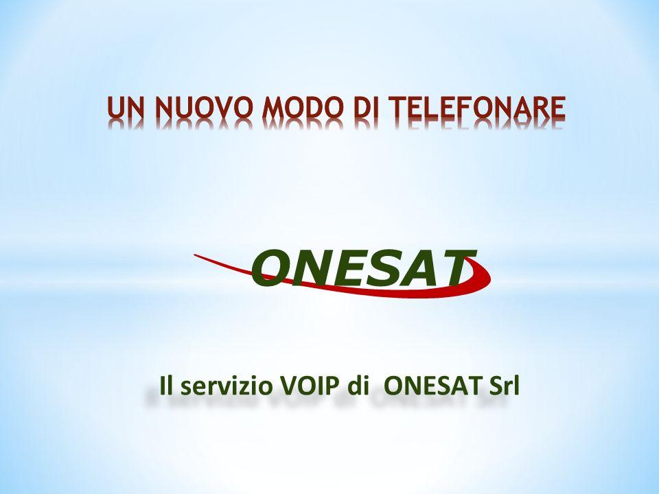 Il servizio VOIP di ONESAT Srl ONESAT