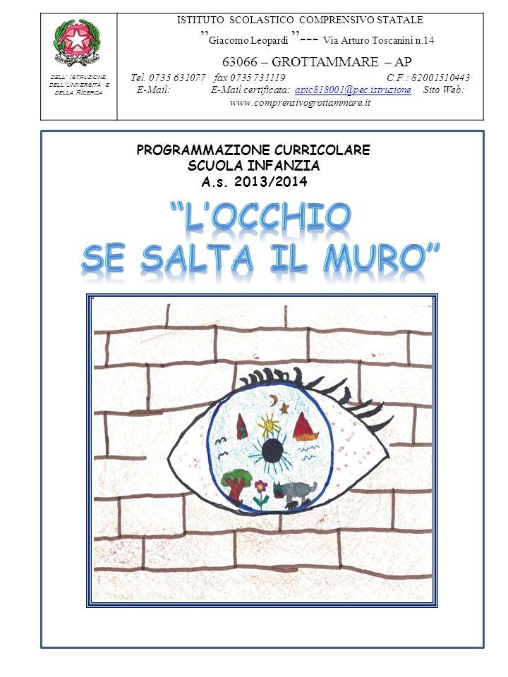 Ministero dell Istruzione, dellUniversità e della Ricerca ISTITUTO SCOLASTICO COMPRENSIVO STATALE Giacomo Leopardi --- Via Arturo Toscanini n.14 63066