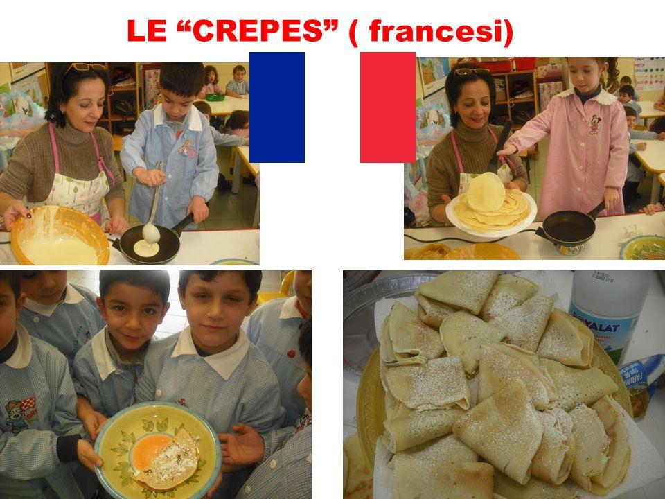LE CREPES ( francesi)
