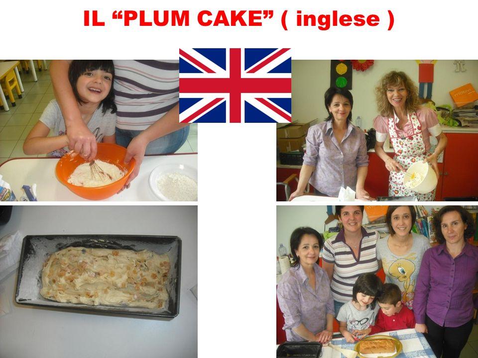 IL PLUM CAKE ( inglese )