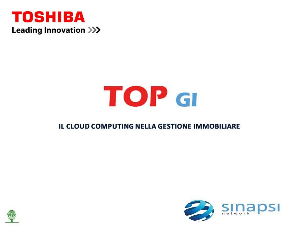 Toshiba – Tec Italia in collaborazione con Sinapsi Network ha sviluppato la soluzione TOP GI che mira ad offrire servizi in Cloud Computing per il mercato della Gestione Immobiliare.