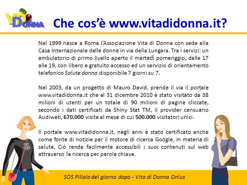 Che cosè www.vitadidonna.it.