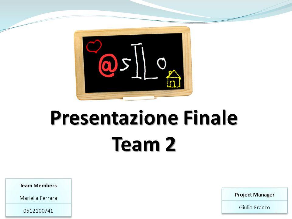 Presentazione Finale Team 2 1