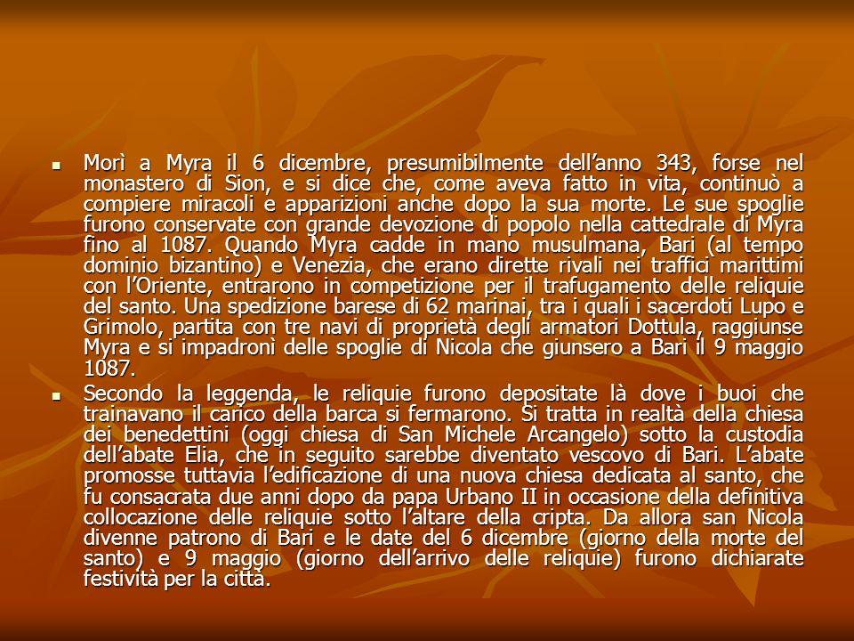 VERIFICO RACCONTA E SPIEGA … Come e quando nacque il rito dello scambio delle stranae.