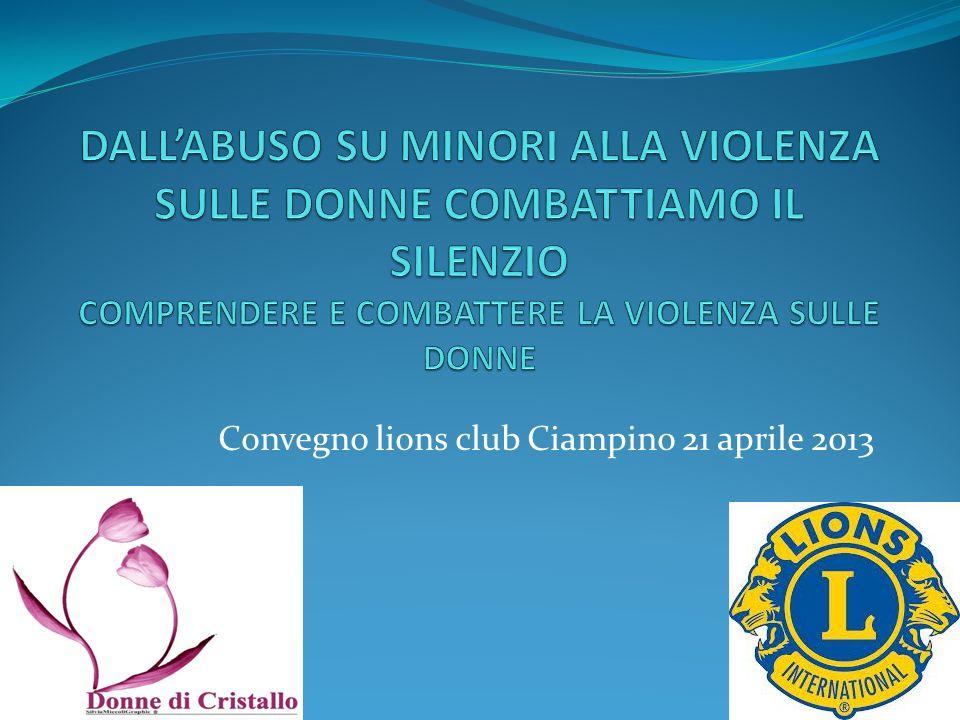 Convegno lions club Ciampino 21 aprile 2013