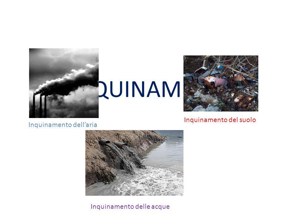INQUINAMENTO ATMOSFERICO Qualunque modifica della normale composizione chimica o fisica dell aria costituisce inquinamento atmosferico.