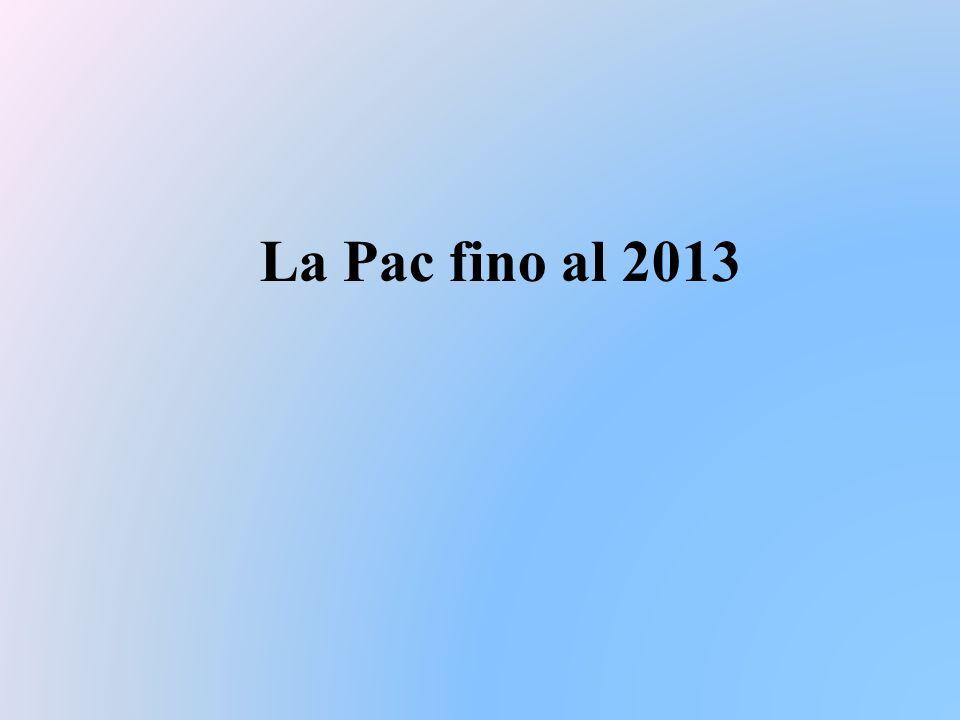 La Pac fino al 2013