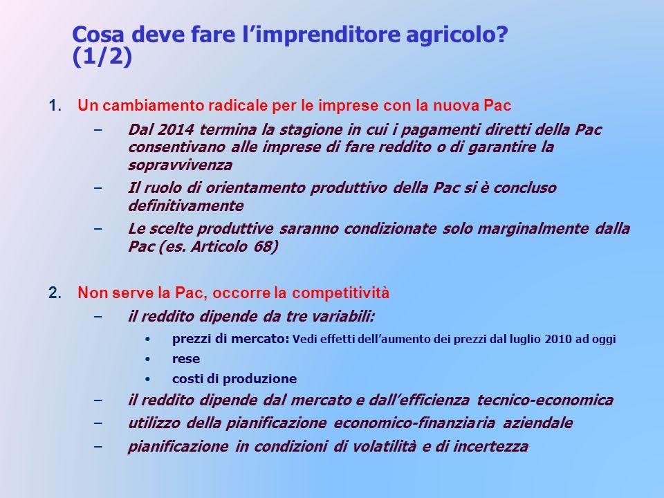 Cosa deve fare limprenditore agricolo.
