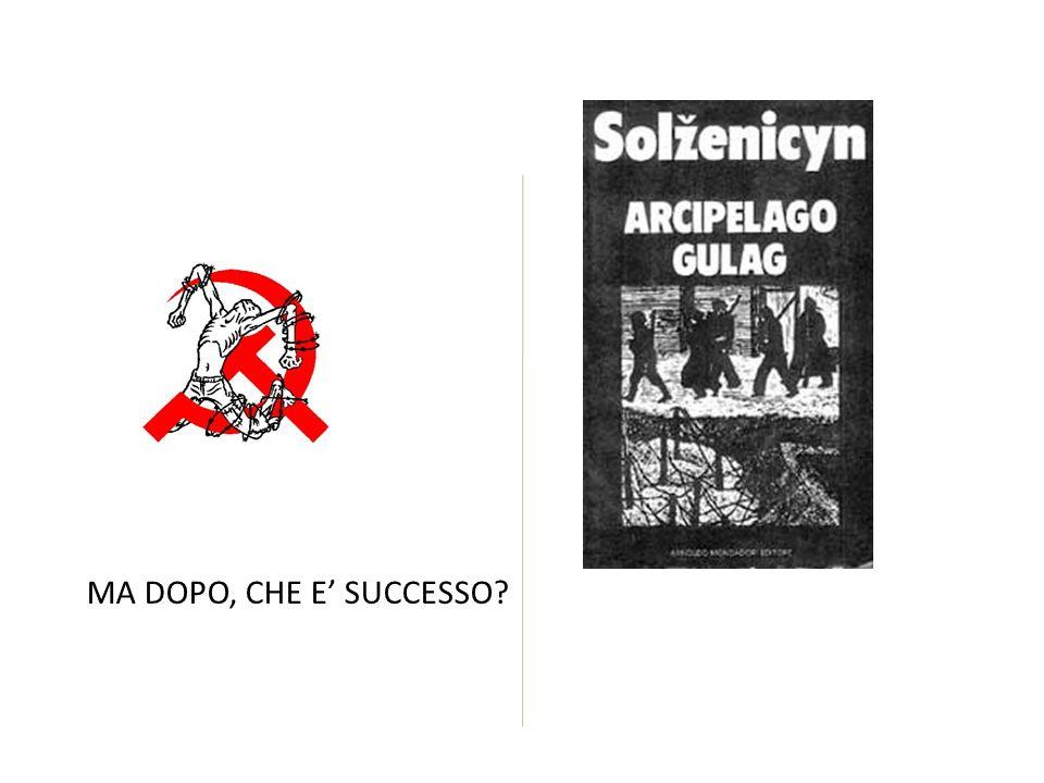 MA DOPO, CHE E SUCCESSO