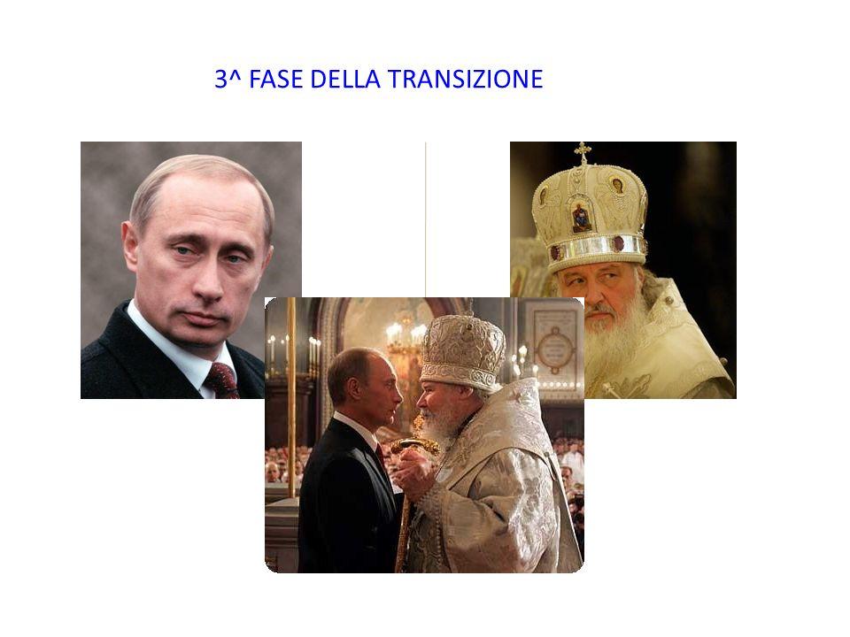 3^ FASE DELLA TRANSIZIONE