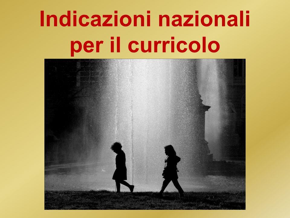 Listituto nazionale di valutazione ha il compito di rilevare la qualità dellintero sistema scolastico, con riferimento ai traguardi e agli obiettivi previsti dalle Indicazioni.